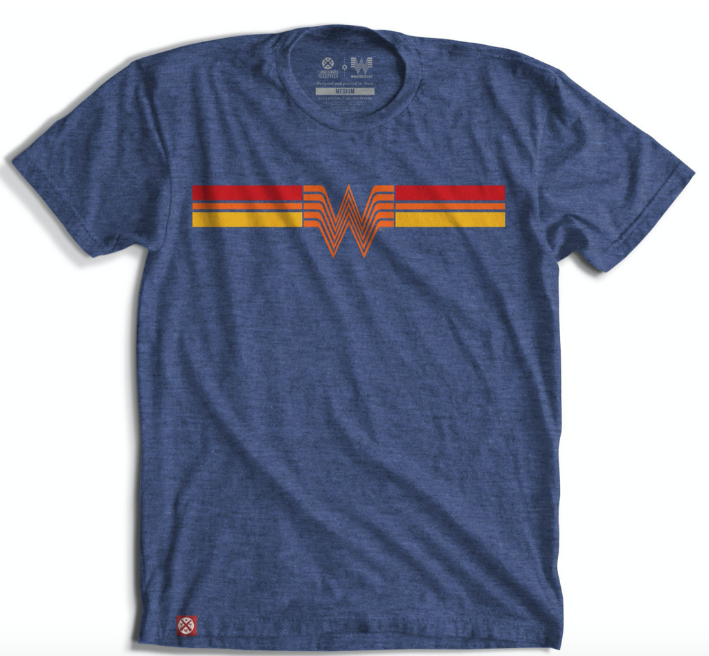 Retro Striped Whataburger T-Shirt