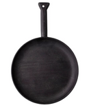 Black Round Cutting/Serving Board with Handle