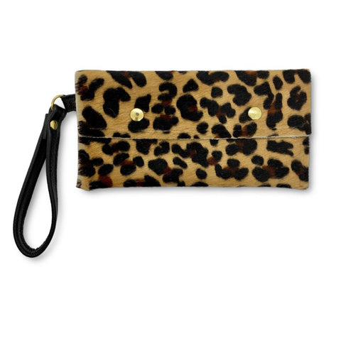 Take Along Animal Print Envelope Wristlet