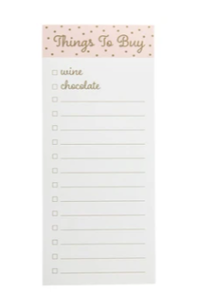 Things To Buy Magnetic Notepad