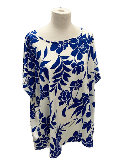 Curvy Girl Donna Floral Top