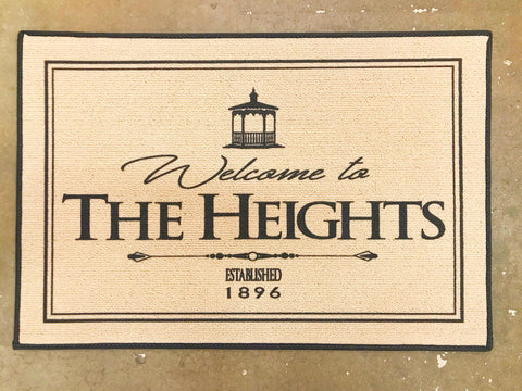 Heights Door Mat