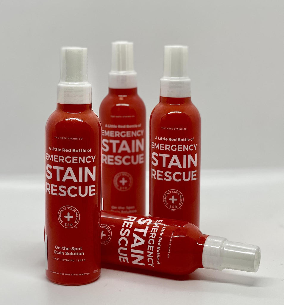 A Little Red Bottle of Emergency Stain Rescue