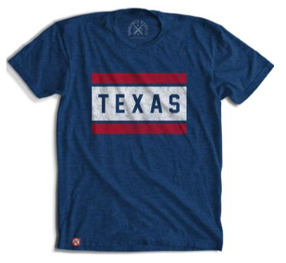 Block Texas T-Shirt by Tumbleweed TexStyles