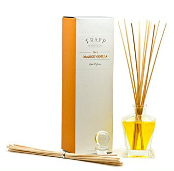 Trapp Reed Diffuser Kit - Orange Vanilla