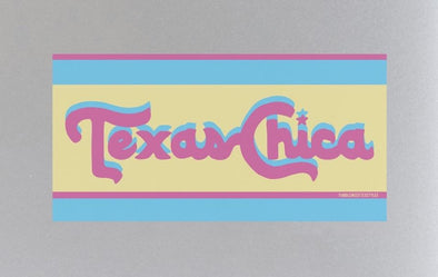Retro Texas Chica Sticker by Tumbleweed TexStyles