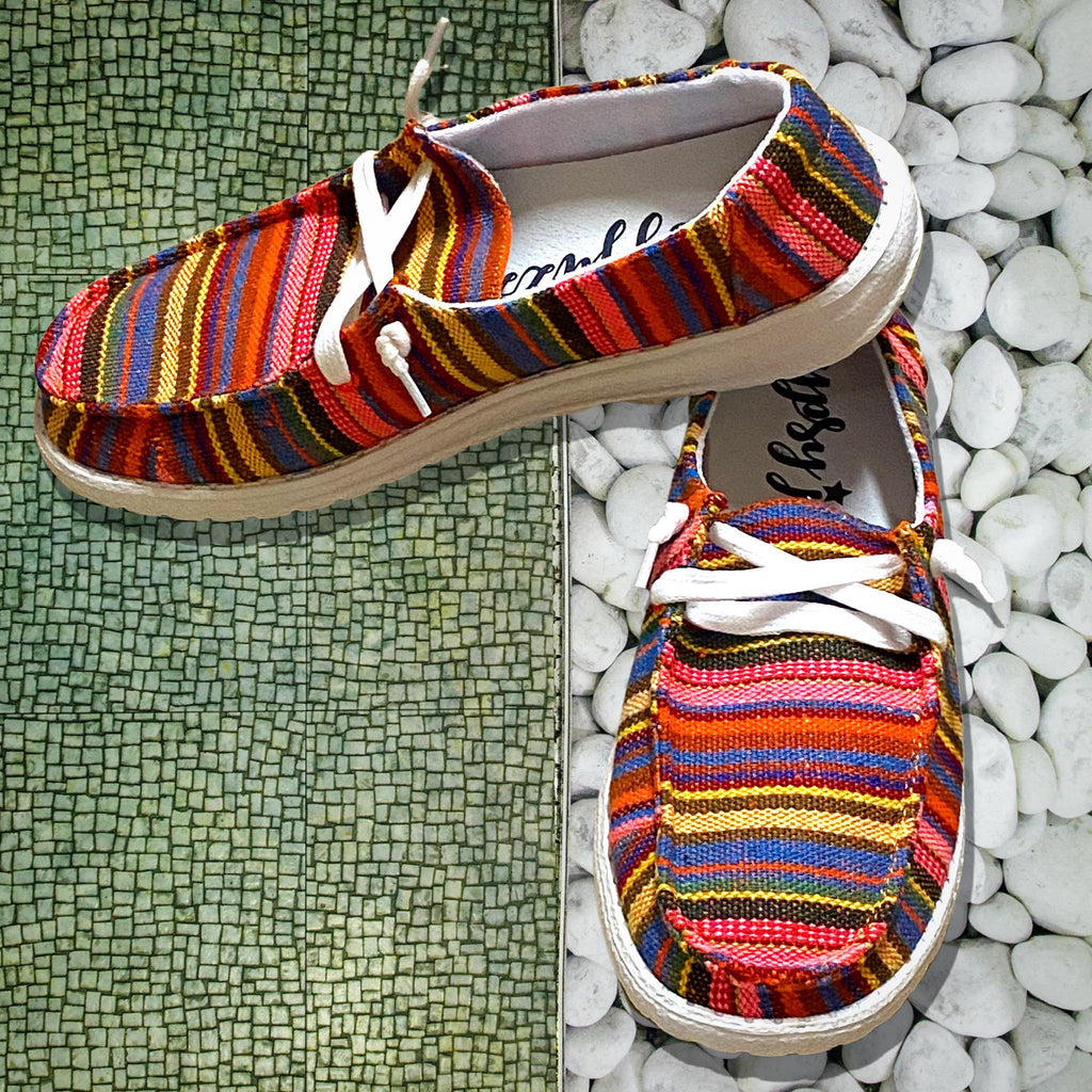 Shilah Serape Slip on Sneakers