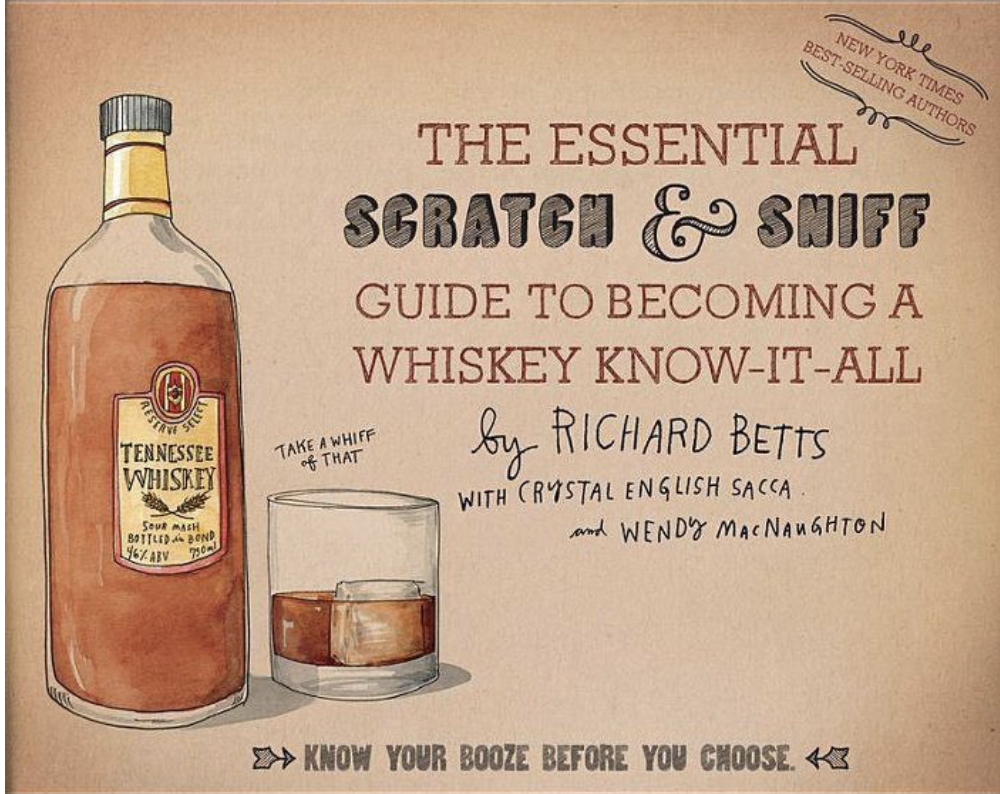 Essential Scratch & Sniff Guide to Becoming a Whiskey Expert