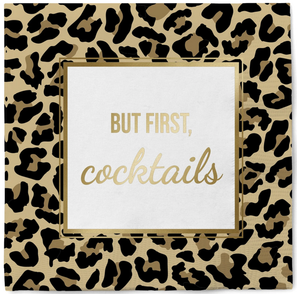 But First, Cocktails Napkins