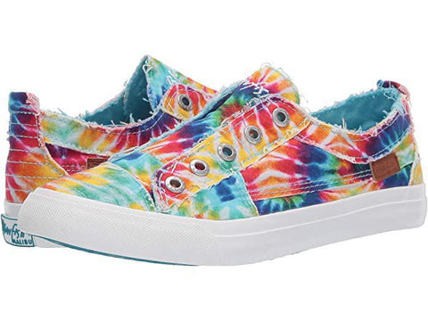 Blowfish Play Sneakers - Rainbow Tie Dye