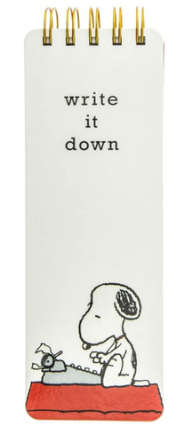 Snoopy Write It Down Flip Pad