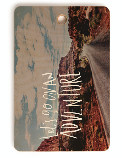Adventure Utah Cutting Board