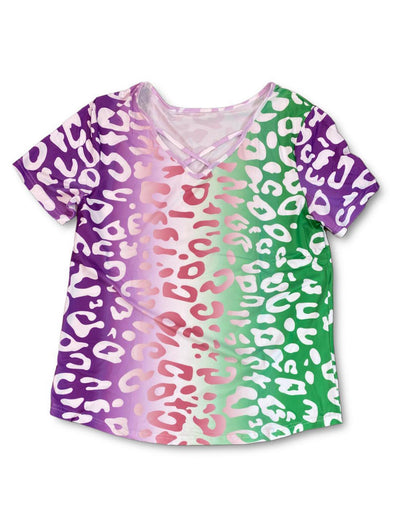 Ombre Leopard Tee