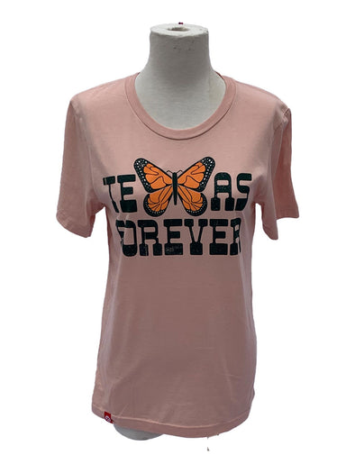 Texas Forever Monarch Butterfly Tee