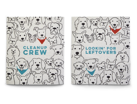 Clean-Up Puppy Crew Cloth