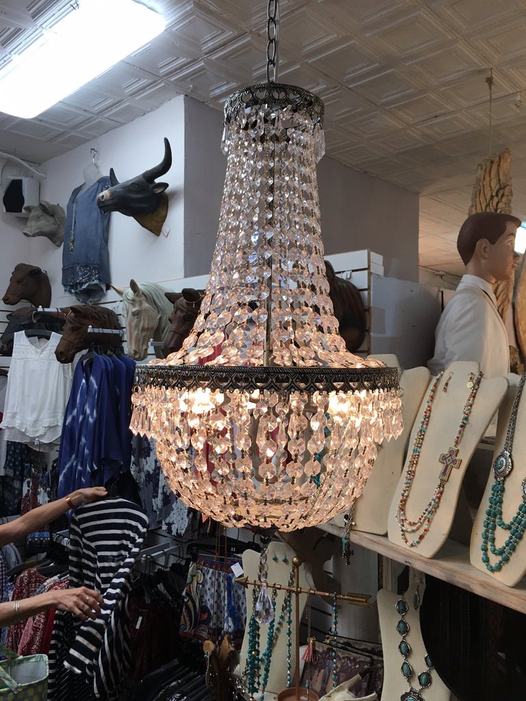 Single Light Chandelier Pendant