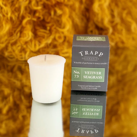 Trapp Votive Candle - Vetiver Seagrass