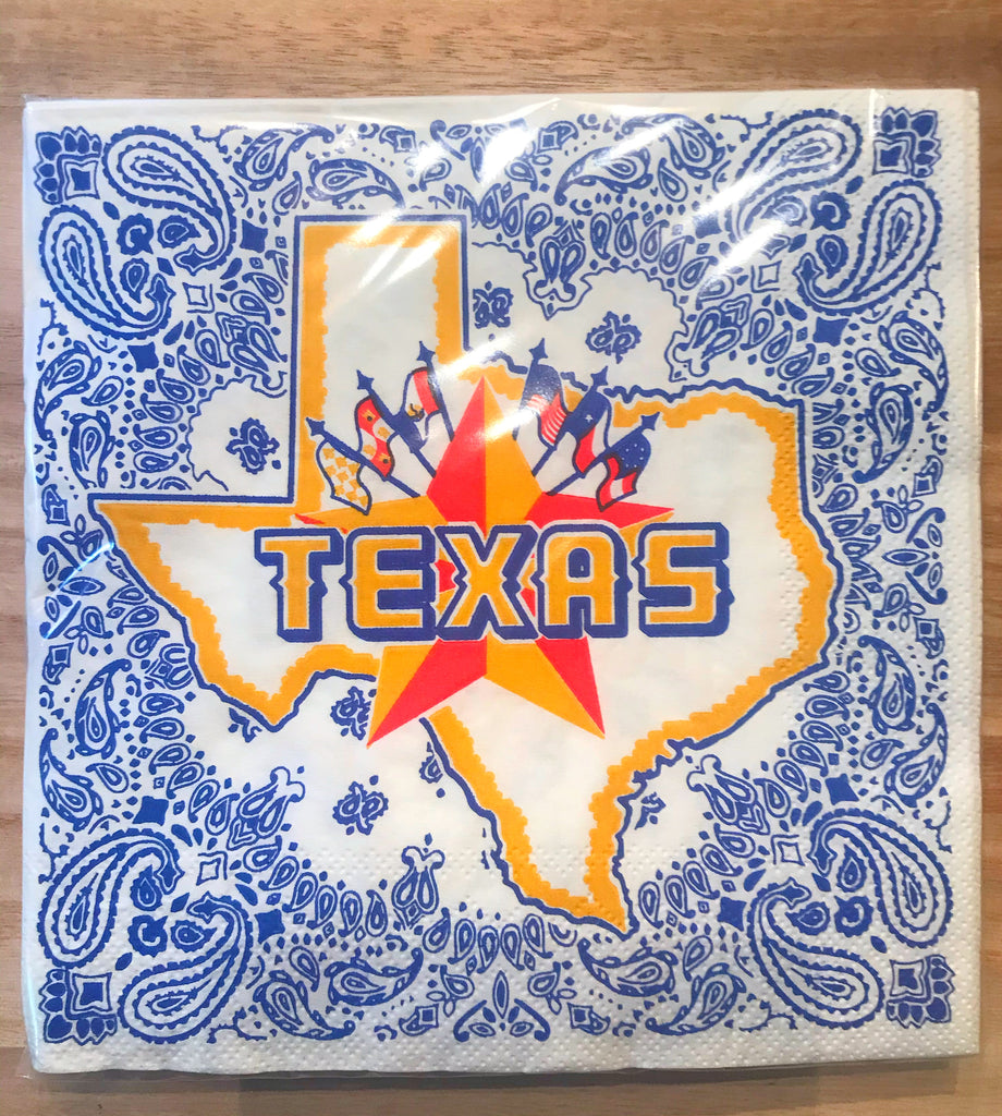 Texas Dinner Napkins