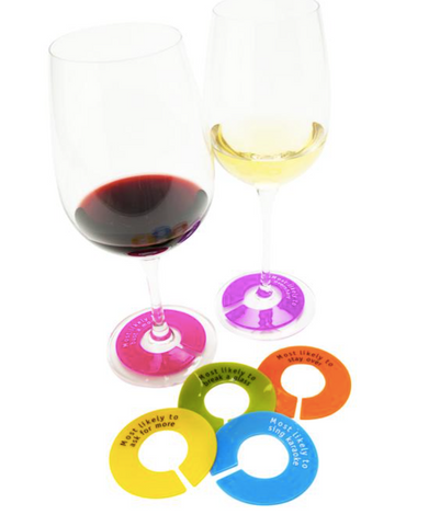 GlassWhere Wine Glass Charms