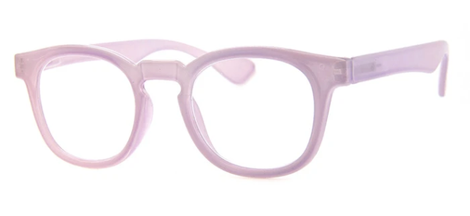 Woodlawn Reading Glasses- Light Purple