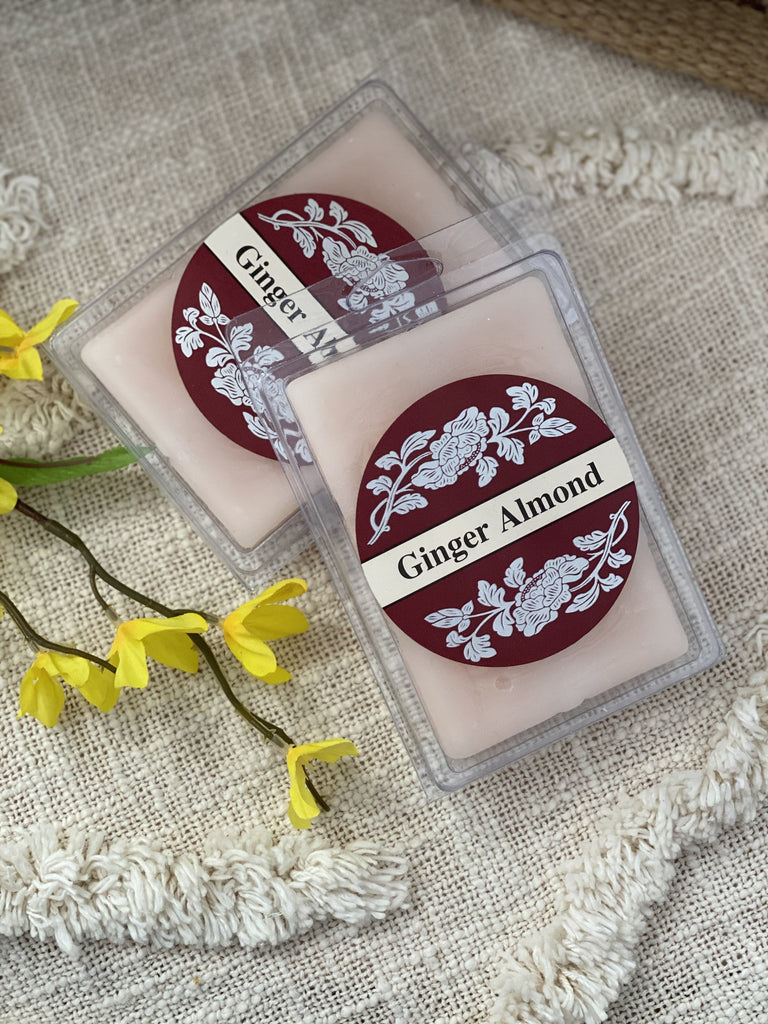 Square Candles Tarts - Ginger Almond