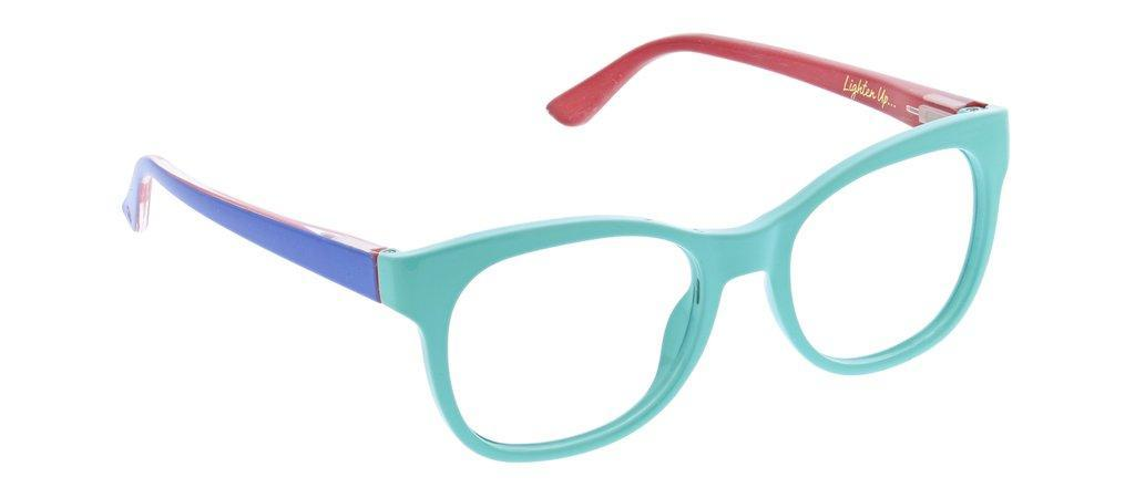 Peepers Light Bright Reading Glasses - Aqua/Blue