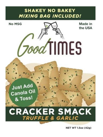 Good Times Cracker Smack - Truffle and Garlic