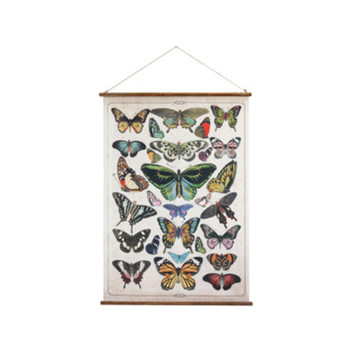 Butterfly Wall Scroll