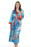 Reversible Satin Robe