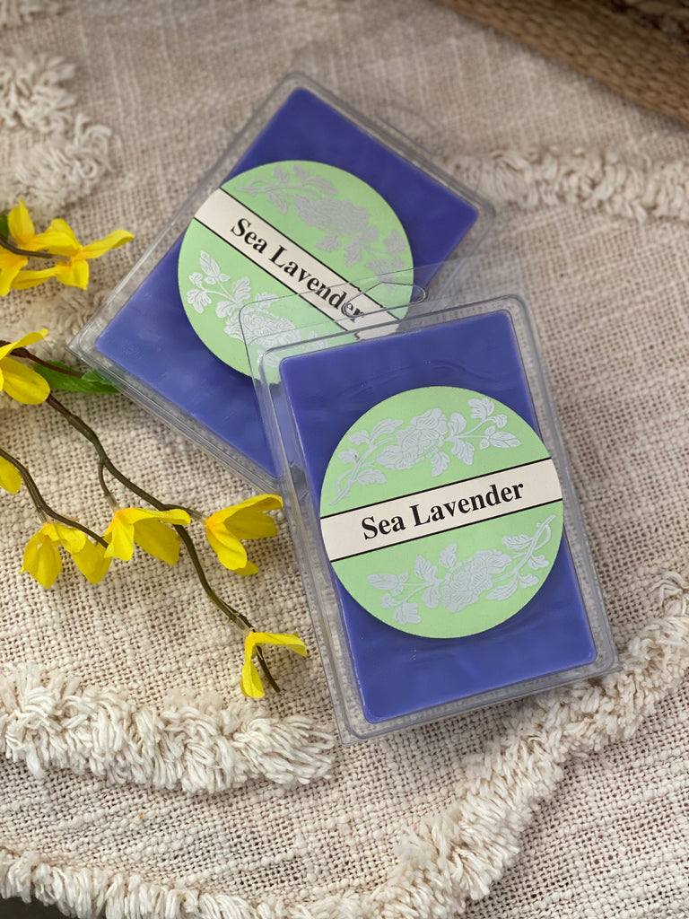 Square Candles Tarts - Sea Lavender