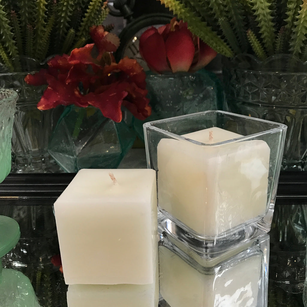 Square Candles - Italian Cream