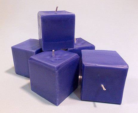 Square Candles - Sea Lavender