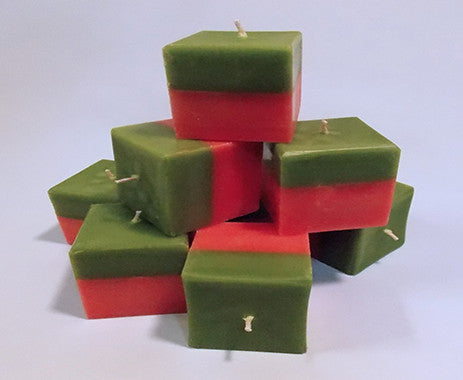 Square Candles - Taffeta