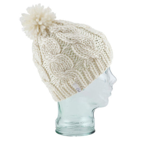 COAL The Rosa Ladies Chunky Knit Bobble Hat