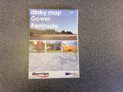 DORRIGO GOWER & SWANSEA MAP  MAPS & GUIDESDORRIGO- Mike Davies Leisure