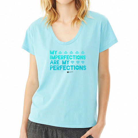 Imperfections Perfections T-Shirt– Womens