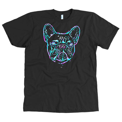 Frenchie Colorsplash Love T-Shirt – Mens