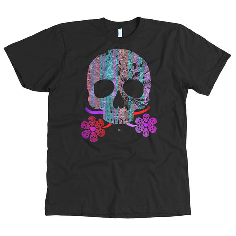 Life Loving Skull T-shirt – Mens
