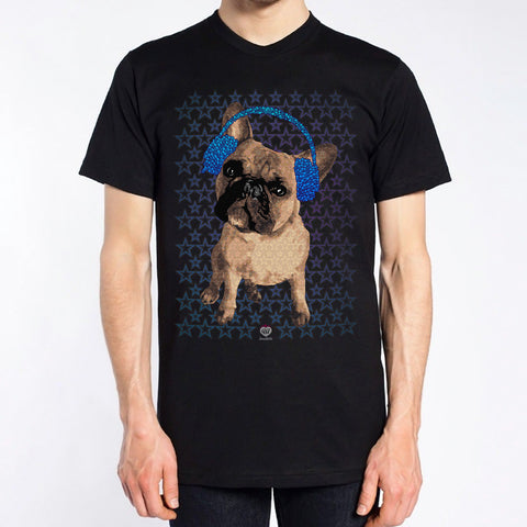 Hip Urban Frenchie T-Shirt – Mens