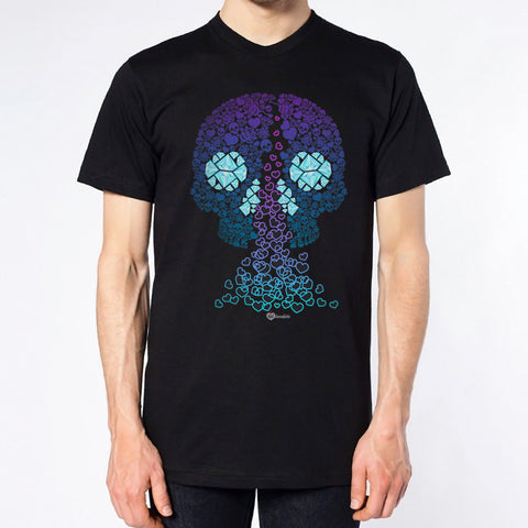 Skull Heartfall T-shirt – Mens