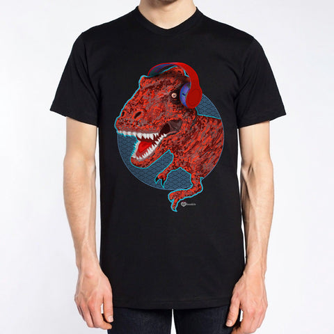 T-Rex Music Monster T-Shirt – Mens