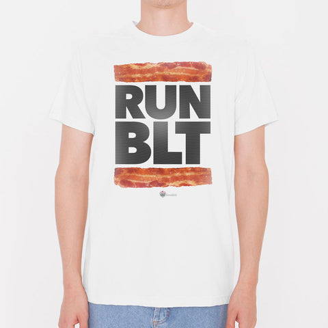 RUN BLT Music Bacon Lover T-Shirt – Mens