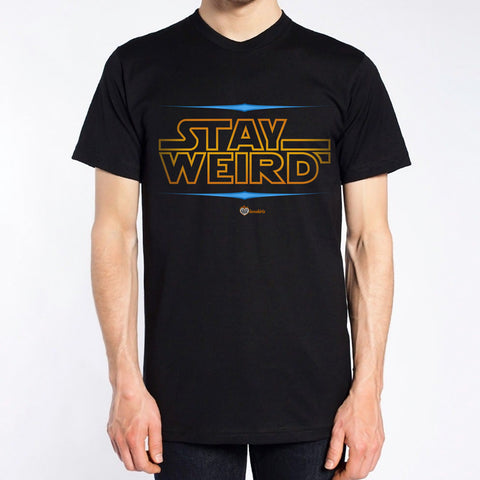 Stay Weird T-Shirt – Mens