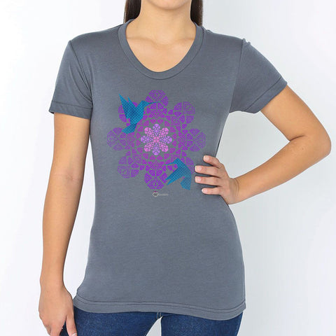 Flower Diamond Nectar T-Shirt – Womens