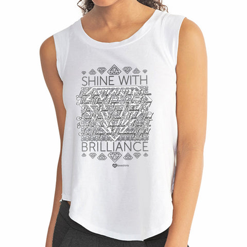 B&W Shine With Brilliance T-Shirt – Womens