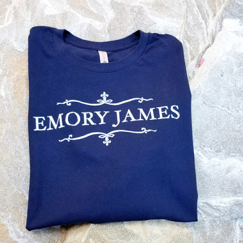 Signature Tshirt Navy