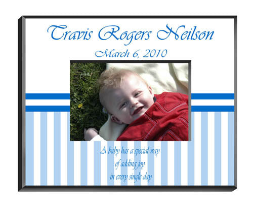 Personalized  Children's Frames - Baby Boy