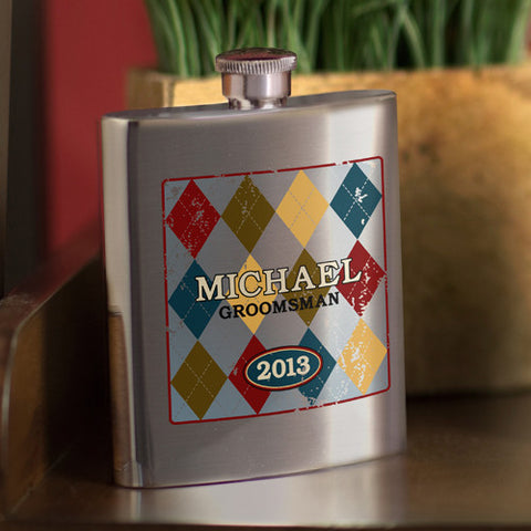 Wingman's Flask - Argyle Design