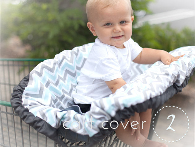 Keep germs away from baby with the 5-in-1 diaper bag and cover