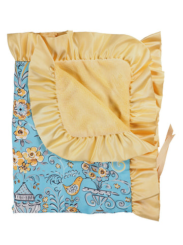 Stroller Blanket - Birdy n' Bloom